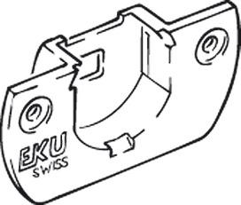 Boîtier pour chariots de roulement EKU CLIPO 15 SH/REGAL C 15 SH