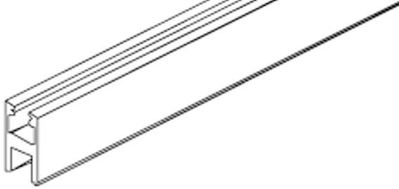 Profili di fissaggio per vetro EKU