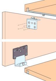 Ferrements pour portes coulissantes EKU-CLIPO 16 H, Forslide