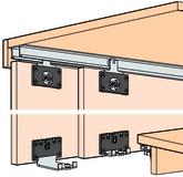 Ferrements pour portes coulissantes EKU-COMBINO 20 H, Mixslide