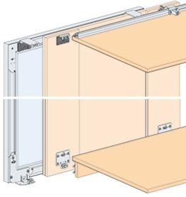 EKU Telaio in alluminio per vetro, senza vetro