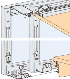 Ferrements pour portes coulissantes EKU-COMBINO 60 GR, Forslide