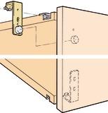 Ferrements pour portes coulissantes EKU-REGAL A 25 H, Forslide