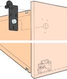 Ferrements pour portes coulissantes EKU-REGAL A 40 H, Forslide