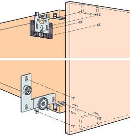 Schiebetürbeschläge EKU-REGAL B 25 H/HG/HGR, Inslide