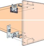Ferrements pour portes coulissantes EKU-REGAL B 25 H/HG/HGR, Inslide