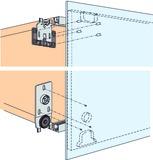 Ferrements pour portes coulissantes EKU-REGAL B 25 HG, Forslide