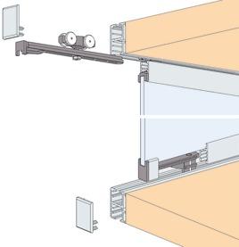 Ferrements pour portes coulissantes EKU-REGAL C 16 GPPK, Inslide