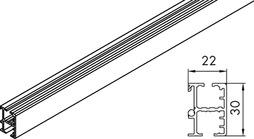 Rail de roulement/guidage simple