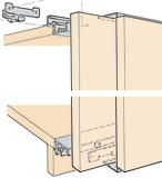 Ferrements pour portes coulissantes EKU-FRONTAL 25 H, Forslide