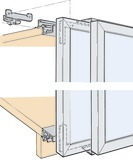 Ferrements pour portes coulissantes EKU-FRONTAL 25 GR 20/20, Forslide