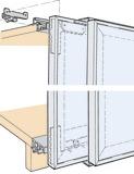 Ferrements pour portes coulissantes EKU-FRONTAL 25 GR 40/22, Forslide