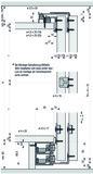 Ferramenta per ante scorrevoli EKU-COMBINO 50 H FS, Forslide