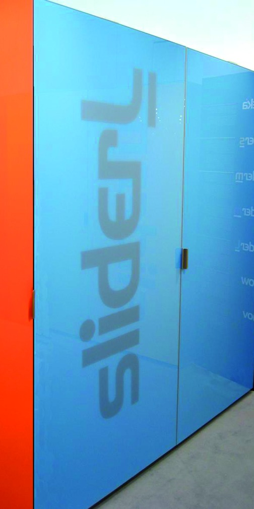 Ferrements pour portes coulissantes Slider L 70, type 2 B17, Forslideà fleur avec la façade