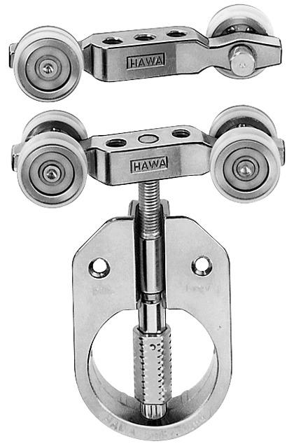 Ferrements pour portes coulissantes HAWA-208 Inslide 40/70