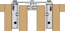 Profil de raccordement Connector largeur 110 mm HAWA-Concepta 25/30/50