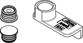 Dispositivi di centraggio magnetici HAWA Folding Concepta