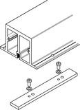Verstärkungsprofil HAWA Folding Concepta