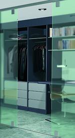 Komplett-Garnitur HAWA-Ordena für VSG/ESG-Glas