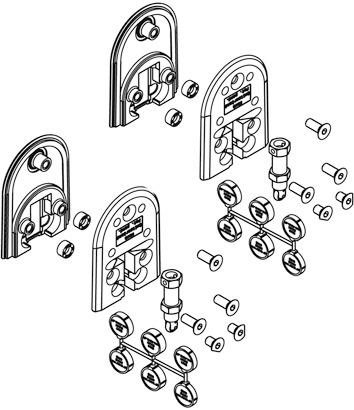 Guide da pavimento, Ordena 70/F, molleggiate