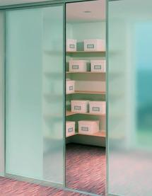 Ferrements pour portes coulissantes EKU-DIVIDO 80 GR