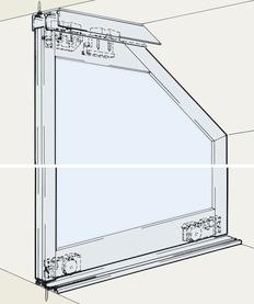 Ferrements pour portes coulissantes EKU-DIVIDO 80 GR DS1