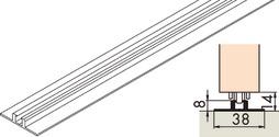 Rail de roulement simple EKU