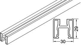 Profil du cadre vertical EKU