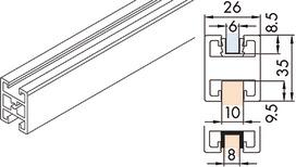 Rahmensprosse EKU