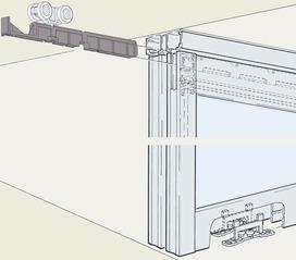 Ferrements pour portes coulissantes EKU-DIVIDO 100 GRM