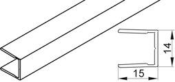 Profil cadre frontal