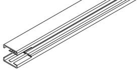 Profili verticali per telai EKU