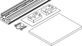 Rahmenprofil HAWA-Concepta