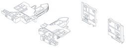 3D-Rastkupplung und Verstelladapter GRASS