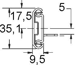 Kugel-Teilauszug ACCURIDE Dual 2002