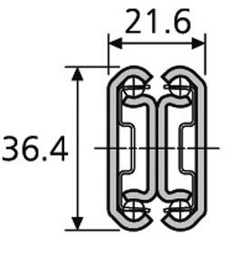 Kugel-Vollauszüge ACCURIDE Dual DZ 3630