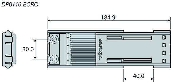 Guidage linéaire avec patin à recirculation ACCURIDE DA0116RC