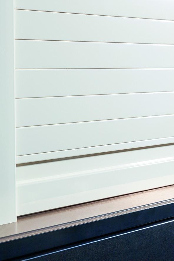 Rollladen-System REHAU C3-Box RAUVOLET brilliant-line