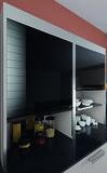 Jalousies à rouleau-verre set complet système REHAU vetro-line