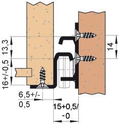 Guide a estrazione semplice FULTERER FR 2051 SCC