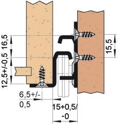 Guide a estrazione semplice FULTERER FR 2071