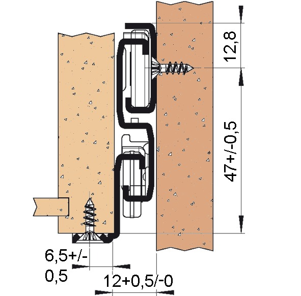 Guide telescopiche FULTERER FR 6500
