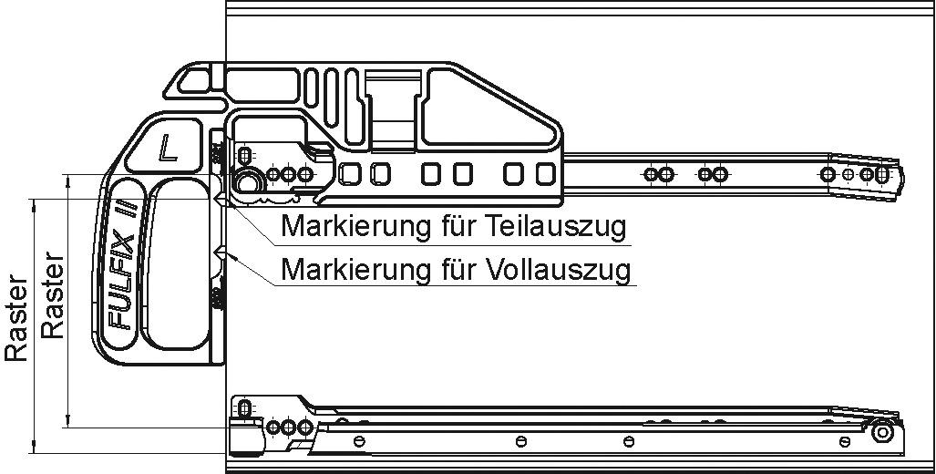 Jauges de montage FULTERER FULFIX II