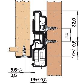 Guide differenziata FULTERER FR 791 V