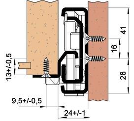 Guide differenziata FULTERER FR 7180