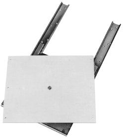Auszieh-Drehbeschläge für Fernsehapparate