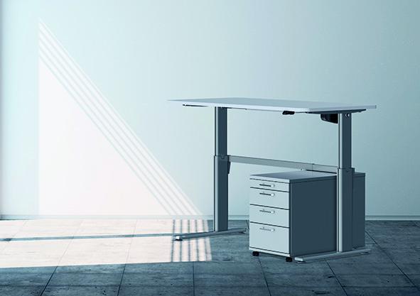 Système de bureau électronique réglable en hauteur Pro 150 M