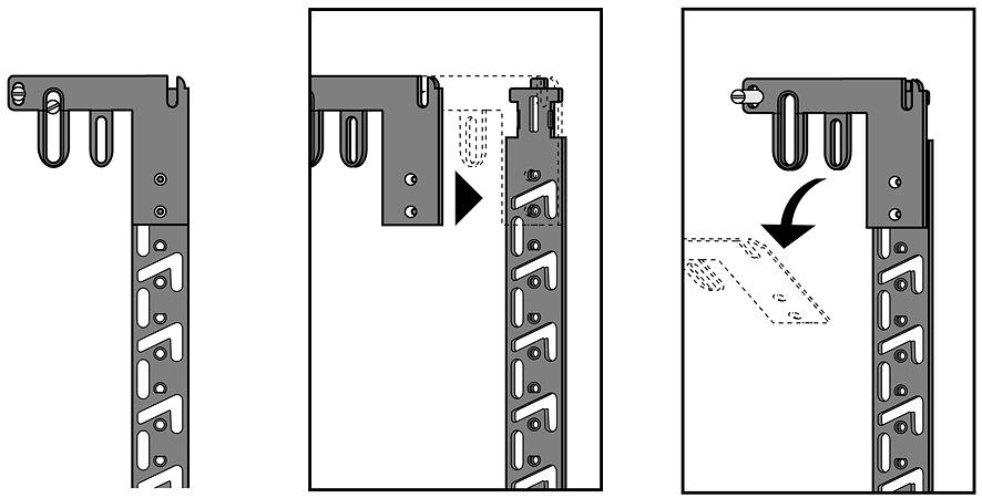 Aggancio per serratura Stop Control