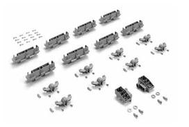 jeu complémentaire avec gabarit de montage Hettich InLine XL