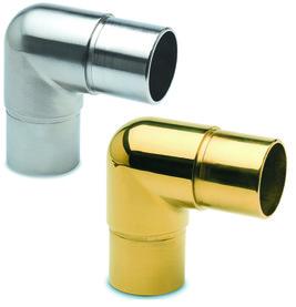 Jonction pour tubes 90° pour reling de bar